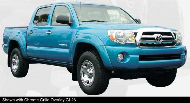 Toyota Tacoma Chrome Wheel Covers Access And Double Cab