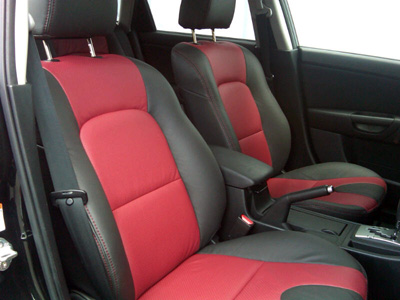 Mazda 3 Katzkin Leather Upholstery