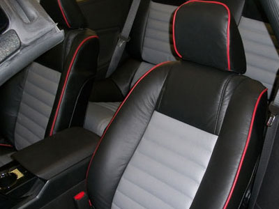 Ford Mustang Katzkin Leather Upholstery
