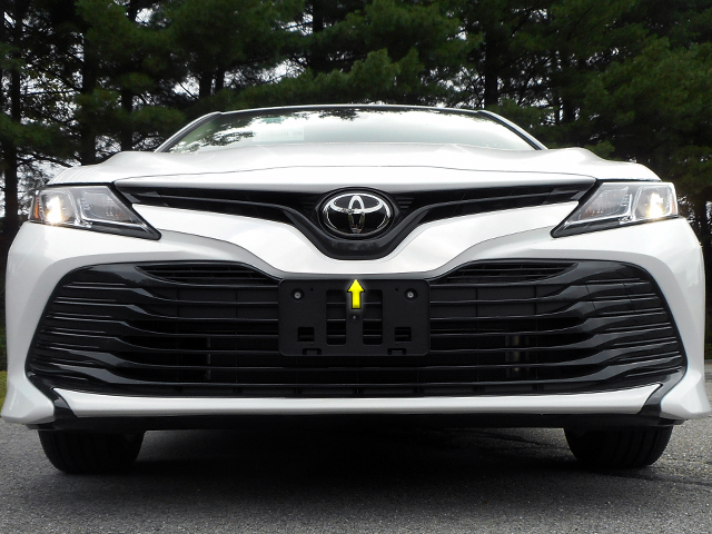 Toyota Camry Chrome Grille Accent Trim