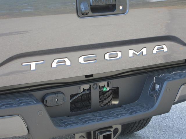 Toyota Tacoma Rear Tailgate Chrome Letters 2016 2017