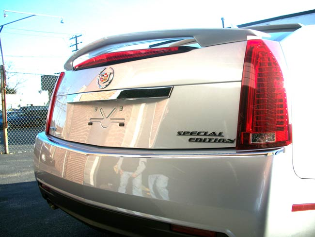 Special Edition emblem on a CTS