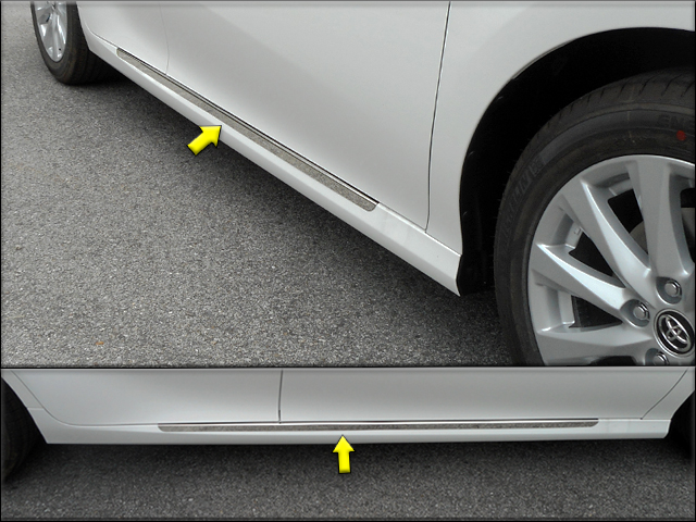 Toyota Camry Chrome Rocker Panel Trim