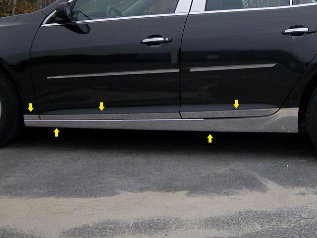 Chevrolet Malibu Chrome Rocker Panel And Door Trim 2013