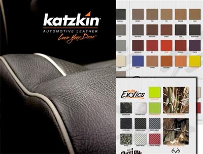 Katzkin Leather Color Sample Book Aftermarket Leather