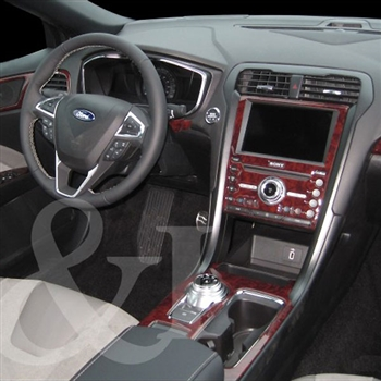 Car Seat Protector >> Ford Fusion Wood Dash Kit | ShopSAR.com