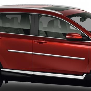 Honda Cr V Chrome Body Side Moldings 2017 2018 Shopsar Com