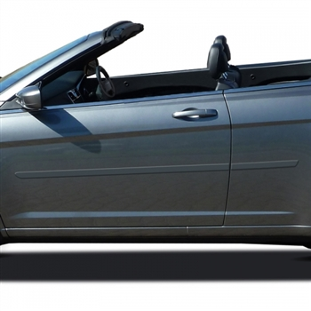 Chrysler 200 Convertible Painted Body Side Moldings 2011
