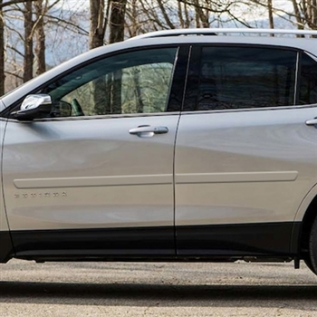 Chevrolet Equinox Painted Body Side Moldings 2018