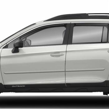 Subaru Outback Painted Body Side Moldings, 2010, 2011 ...