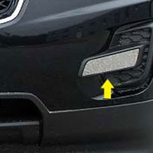 Chevrolet Equinox Chrome Front Vent Accent Trim 2010