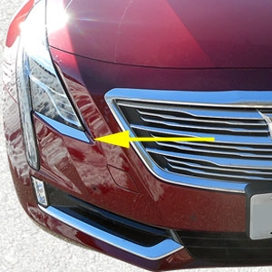 Cadillac Ct6 Chrome Headlight Trim 2016 2017 2018