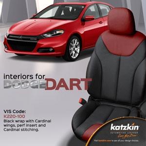 Dodge Dart Katzkin Leather Seat Upholstery Kit | ShopSAR.com