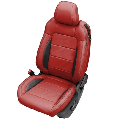 Seat Protector For Car Seat >> Ford Mustang Katzkin Leather Seat Upholstery Kit   ShopSAR.com