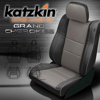 Coverking Seat Covers >> Jeep Grand Cherokee Katzkin Leather Seat Upholstery Kit | ShopSAR.com