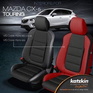 Mazda Cx 5 Katzkin Leather Seat Upholstery Kit Shopsar Com