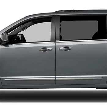 Town And Country Honda >> Chrysler Town & Country Chrome Lower Door Moldings, 2008 ...