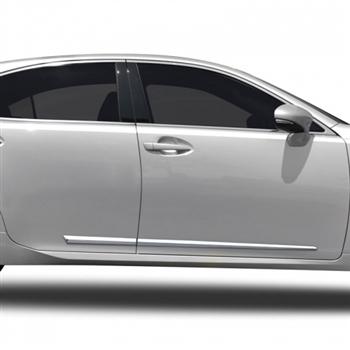 Lexus Es350 Chrome Lower Door Moldings 2007 2008 2009