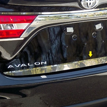 Toyota Avalon Chrome Rear Trunk Trim 2013 2014 2015