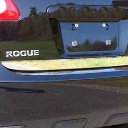Nissan Rogue Chrome Rear Deck Tailgate Trim 2008 2009