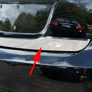 Lincoln Mks Chrome Trunk Lid Trim 2009 2010 2011 2012