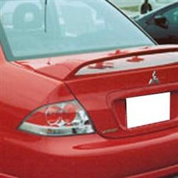 Mitsubishi Lancer Ralliart Painted Rear Spoiler 2004
