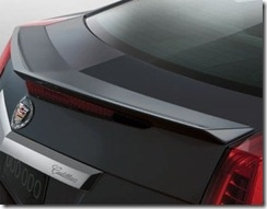 Cadillac Cts Coupe Painted Spoiler Flush Mount 2011