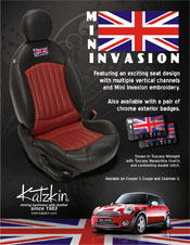 Mini Cooper Katzkin Leather