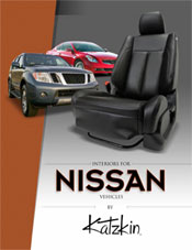 Nissan Leaf Katzkin Leather