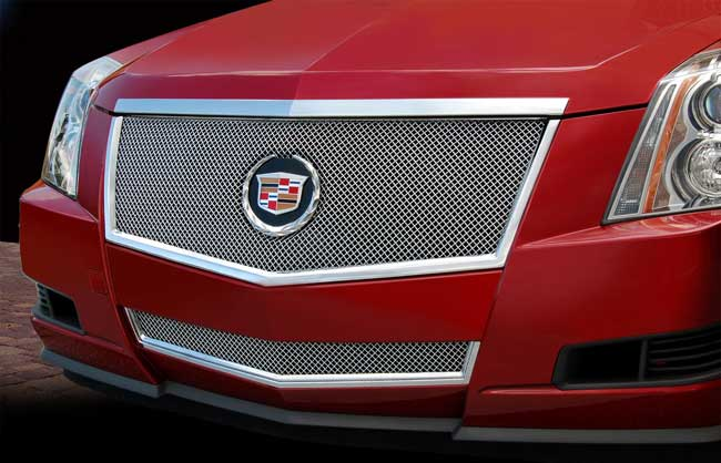 Cadillac Cts Coupe Fine Mesh Grille By E Amp G Classics 2011