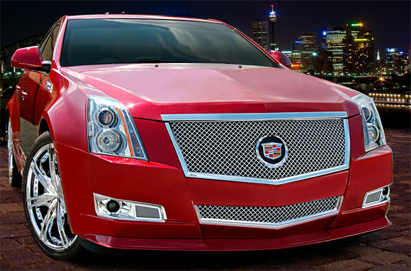 Cadillac Cts Coupe Heavy Mesh Grille By E Amp G Classics 2011
