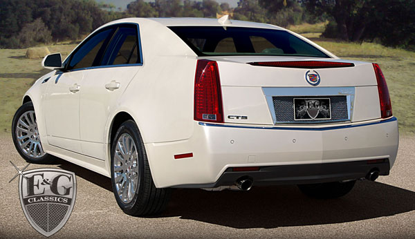 Cadillac Cts Sedan Mesh Rear License Surround 2008 2009