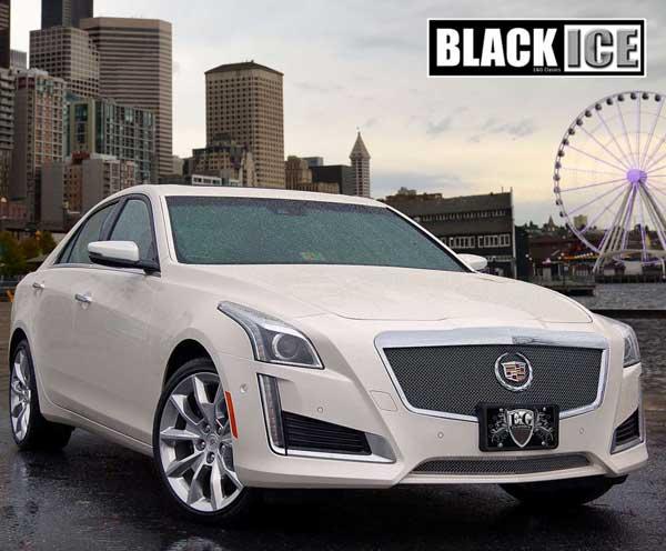 Cadillac CTS Sedan Fine Mesh Grille, 2014 | ShopSAR.com