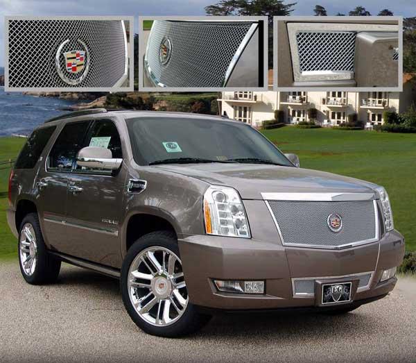 Cadillac Escalade Fine Mesh Grille, 2007, 2008, 2009, 2010