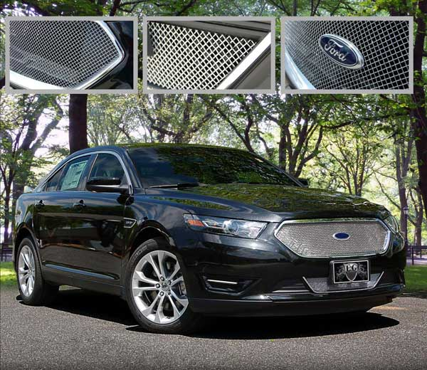 ford taurus sho fine mesh grille by e g classics 2013. Black Bedroom Furniture Sets. Home Design Ideas