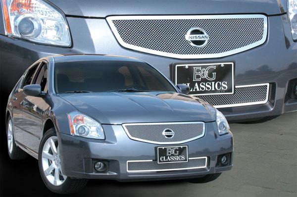 Nissan Maxima Mesh Grille By E G Classics 2007 2008 Shopsar Com