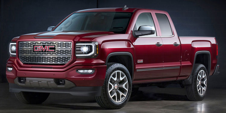 "Gmc Elevation 2017 >> GMC Sierra 1500 SLE Denali Style ""Z"" Chrome Grille by E&G Classics, 2016, 2017, 2018 