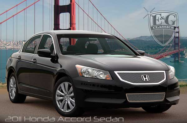 Honda Accord Heavy Mesh Grille