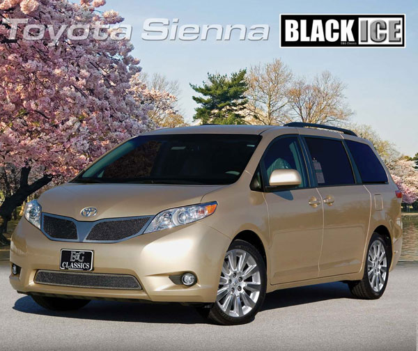 Toyota Sienna Xle Premium: Toyota Sienna Mesh Grille By E&G CLASSICS, 2011, 2012