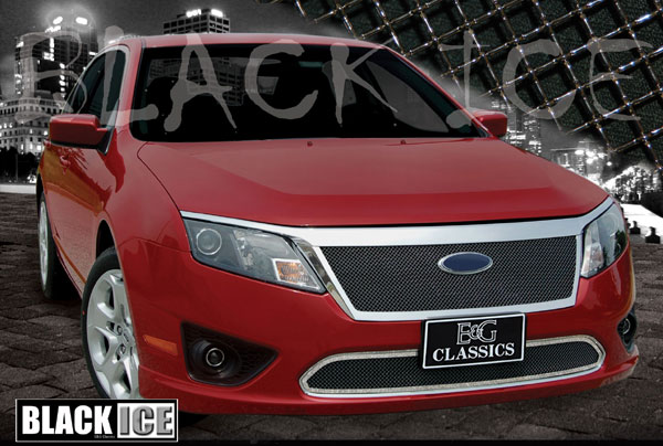 Black Ice Mesh Upper And Lower Grille Shown 1359 B102 10