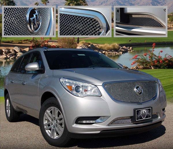 Buick Enclave 2013: Buick Enclave Chrome Fine Mesh Grille By E&G CLASSICS