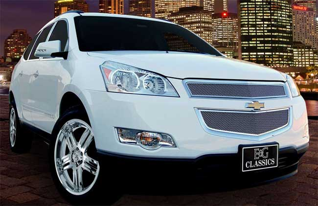 2012 Chevy Traverse Accessories Traverse Fine Mesh Grille by E&G CLASSICS, 2009, 2010, 2011, 2012 ...