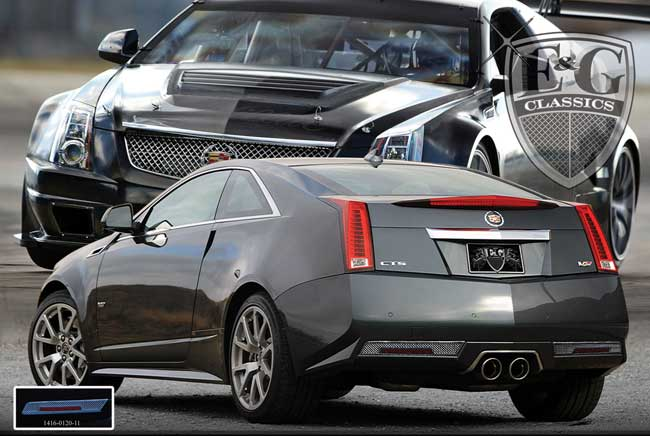 Cadillac Cts V Coupe Fine Mesh Rear Accent Kit By E Amp G