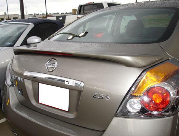 Nissan Altima Sedan Painted Rear Spoiler (with Light), 2007 - 2012