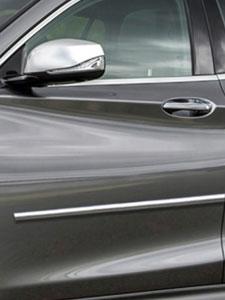 Chrome Hood Trim Molding Accent Kit for mercedes models 2007-2011