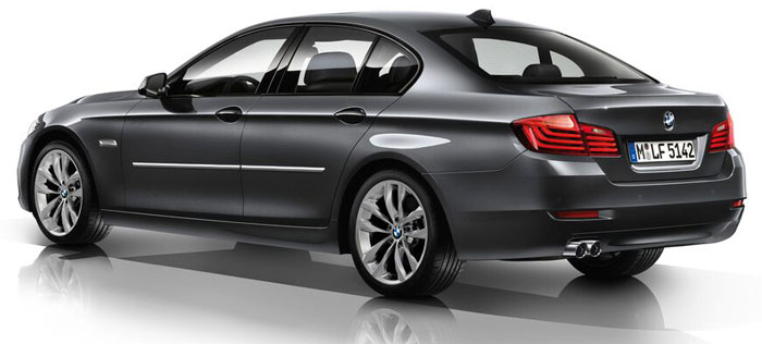 BMW 5-Series Chrome Body Side Molding