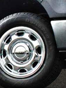 "Fits Chevy Suburban LT 2015-2018 CCI BLACK 18/"" Wheel Skins Hubcaps Wheel Covers"