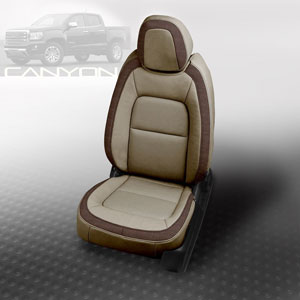 Katzkin Upholstery for GMC Canyon