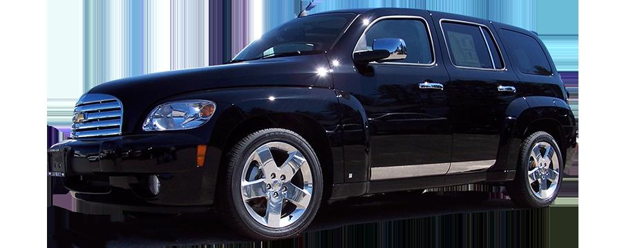 Chevrolet Hhr Chrome Rocker Panel Trim 2006 2007 2008