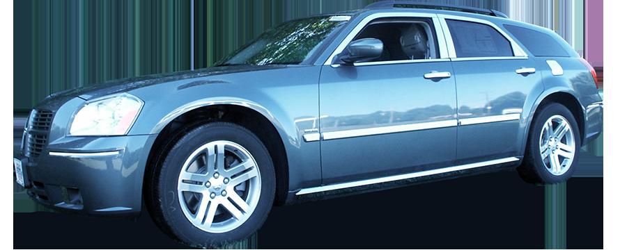 Dodge Magnum Chrome Window Sill Trim 2005 2006 2007